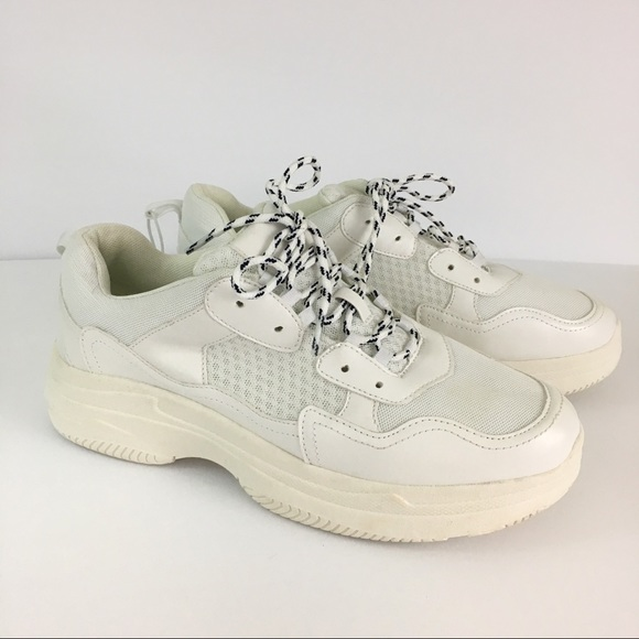 Nwt White Maybelle Bulky Chunky Sneaker